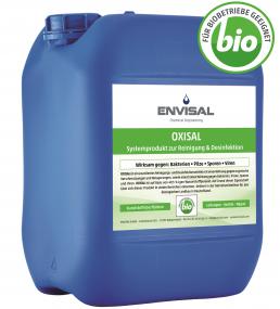 Systemprodukt mit Wasserstoffperoxid gegen den Biofilm in Trinkwassersystemen und Tränkeleitungen