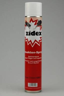 ZIDEX Insekten-Spray gegen Fliegen und Ungeziefer